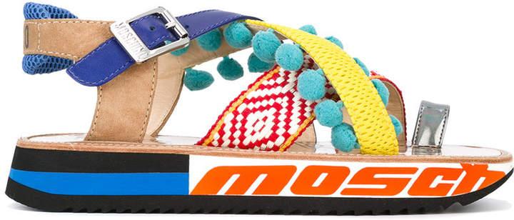 Moschino strappy platform sandals