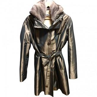 Jil Sander Brown Coat for Women