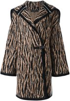 Barbara Bui knitted hooded coat