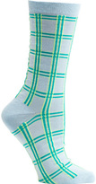 Ozone Women's Masaii Plaid Crew Socks (2 Pairs)
