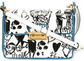 Lanvin 'Jiji' sketch print shoulder bag