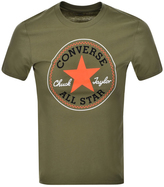 Converse Core Logo T Shirt Green
