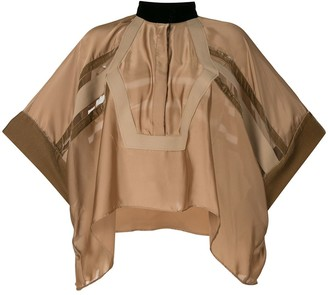 Sacai Asymmetrical Tunic Blouse