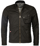 Barbour International Legion Bonner Wax Jacket, Black