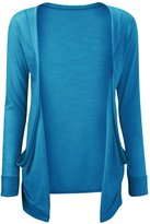 Noroze Girls Boyfriend Long Sleeve Plain Open Cardigans Top 7-13 years