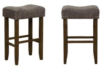"Sargent Bar & Counter Stool (Set of 2) Gracie Oaks Seat Height: Bar Stool (30"" Seat Height)"