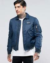 Schott Nylon Flight Bomber
