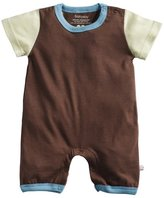 Baby Soy Modern Romper - Chocolate-6-12 Months