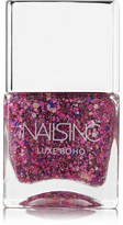 Nails Inc Luxe Boho Nail Polish - Notting Hill Lane - Fuchsia