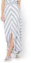 New York & Co. Maxi Skirt - Stripe