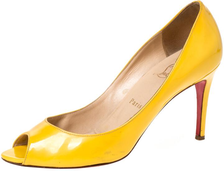 Christian Louboutin Yellow Pumps | Shop