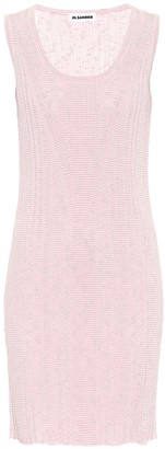 Jil Sander Cotton minidress