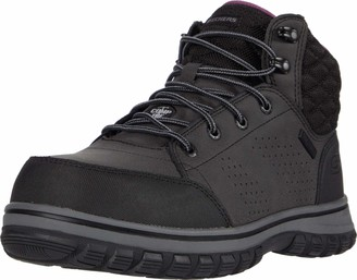 Skechers Women's Padded Collar Safety Boot Industrial Shoe