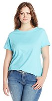 Just My Size Women's Plus-Size Short-Sleeve Tee Shirt