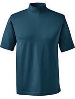 Classic Men's Short Sleeve Mockneck Super Tee-True Blue