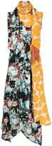 Marni draped panelled dress