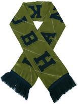 Han Kjobenhavn logo intarsia scarf
