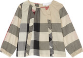 Burberry Aggatha cotton blouse 6-36 months