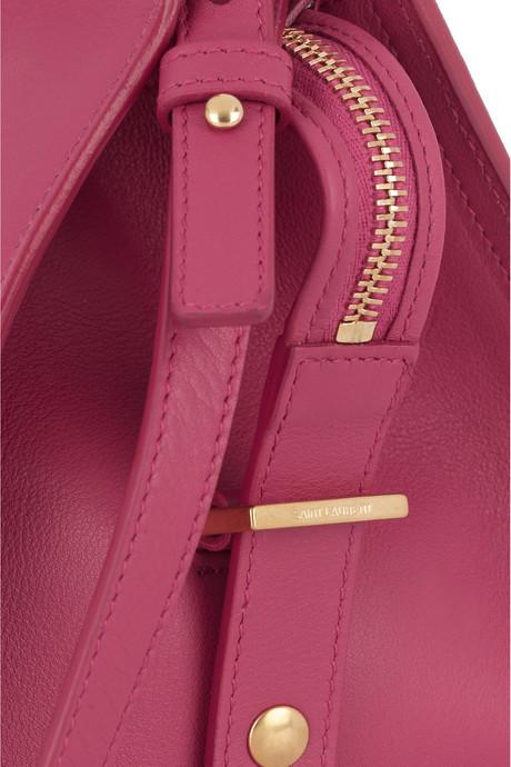 Saint Laurent Ligne Y Petite leather tote