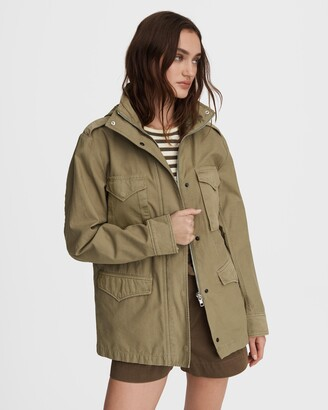 Rag & Bone M65 field cotton jacket