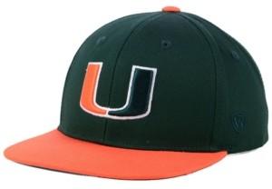 Top of the World Boys' Miami Hurricanes Maverick Snapback Cap