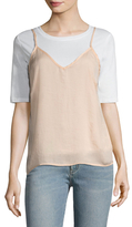 Lucca Couture Washed Satin Camisole