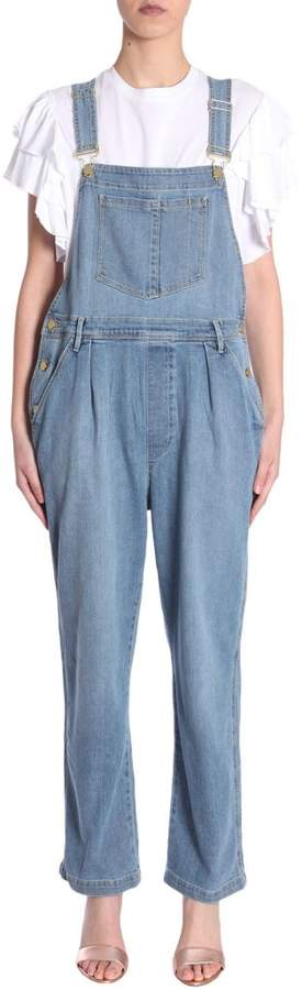 Frame Le Baggy Dungaree Overrall