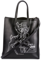 Givenchy Stargate Bambi® Medium Shopper Tote Bag, Black