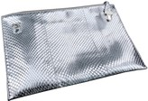 Prada Silver Python Clutch bags