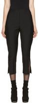 Fendi Black Mohair Cut-Out Trousers