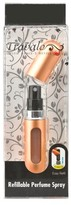 Travalo Refillable Women's Perfume Spray Bottle - Bold Gold