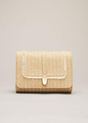Phase Eight Rita Raffia Clutch Bag