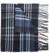 Paul & Shark tartan scarf