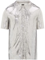 Paco Rabanne Short-sleeved Chainmail Shirt - Mens - Silver