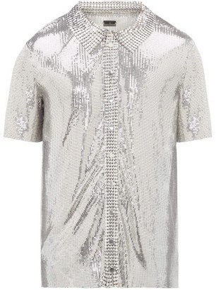 Paco Rabanne Short-sleeved Chainmail Shirt - Silver