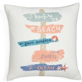 Nordstrom Beach Signs Pillow
