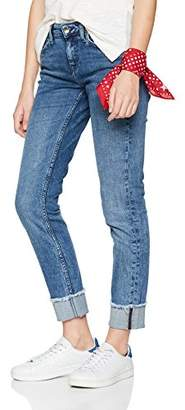Tommy Hilfiger Women's Rome Rw Rolled Up Ankle F Allegra Straight Jeans, Blue 912