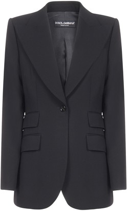 Dolce & Gabbana Single-Breasted One Button Blazer