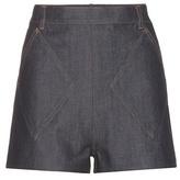 Balenciaga Denim Shorts