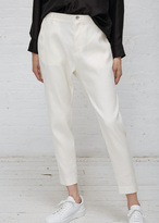 Hope White Krissy Trouser