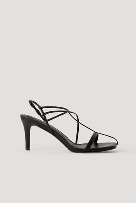 NA-KD Fine Front Straps Sandals