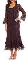 Soulmates Silk Lace Jacket Dress
