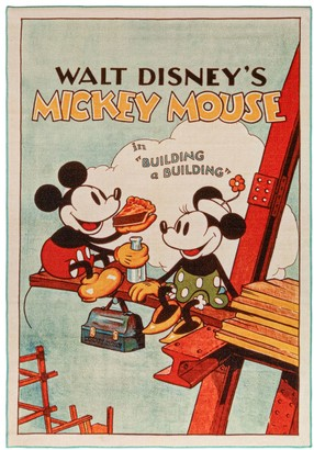 Disney Disney's Mickey Poster Area Rug - 4'6'' x 6'6''