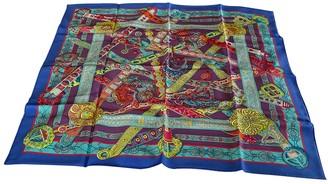 Hermes Chale 140 Multicolour Silk Scarves