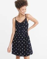 Abercrombie & Fitch Lace-Trim Cami Dress