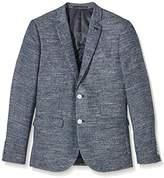New Look Men's Knitted Space Dye Blazer