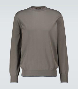 Loro Piana Gosford knitted cotton sweater