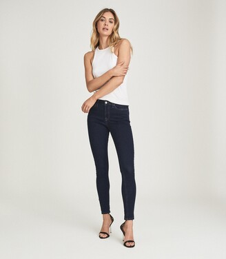 Reiss LUX MID RISE SKINNY JEANS Indigo