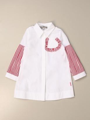 Simonetta Shirt Dress In Cotton