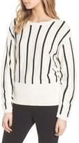 Trouve Vertical Stripe Sweater